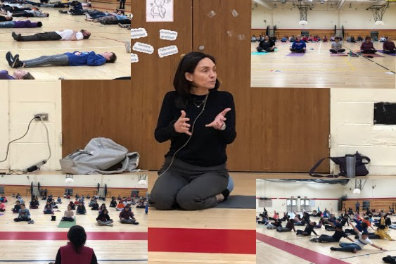 SHMS Participates in the Meditation Lab