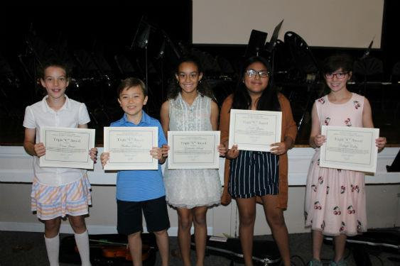 Fifth grade students move up to middle school!