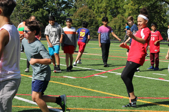 SHMS students spend a day together to build community.
