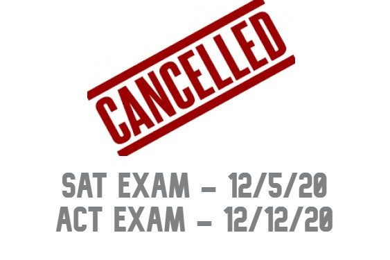 SAT & ACT Exams Cancelled