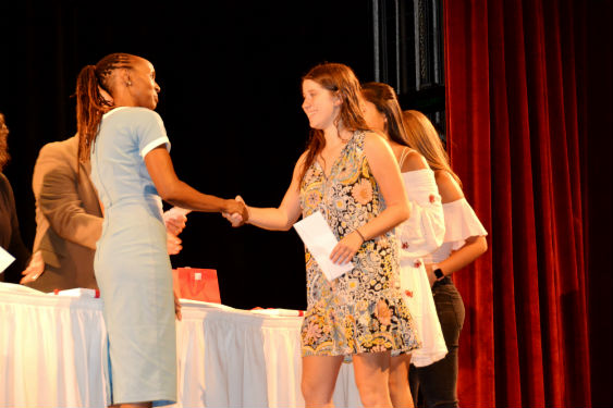 Sleepy Hollow High School students are recognized for their achievements.