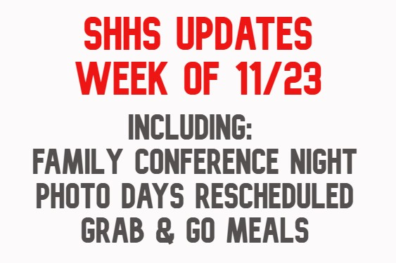 SHHS Important Updates